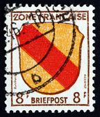 Postage stamp Germany 1945 Arms of Baden — Stock Photo