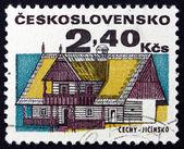 Postage stamp Czechoslovakia 1971 House, Jicin — Stock Photo