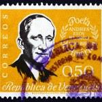 Постер, плакат: Postage stamp Venezuela 1960 Andreas Eloy Blanco Poet