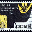Postage stamp Czechoslovakia 1964 Silesian Coat of Arms — Stock Photo