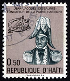 Postage stamp Haiti 1977 Jean-Jacques Dessalines — Stock Photo