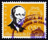 Postage stamp Venezuela 1960 Andreas Eloy Blanco, Poet — Stock Photo
