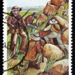 Postage stamp South Africa 1981 Boer Snipers — Stock Photo #38355897