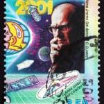 Postage stamp Sri Lanka 1999 Sir Arthur C. Clarke — Stock Photo #38356033