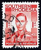 Postage stamp Southern Rhodesia 1937 King George VI — Stock Photo