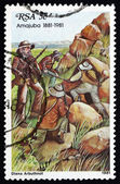 Postage stamp South Africa 1981 Boer Snipers — Stock Photo