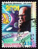 Postage stamp Sri Lanka 1999 Sir Arthur C. Clarke — Stock Photo