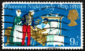 Postage stamp GB 1970 Florence Nightingale — Stock Photo