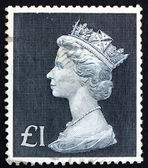 Postage stamp GB 1969 Her Majesty the Queen Elizabeth II — Stock Photo