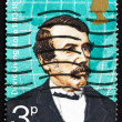 Stock Photo: Postage stamp GB 1973 David Livingstone