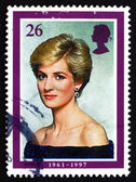 Postage stamp GB 1998 Princess Diana — Stock Photo