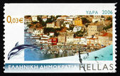 Postage stamp Greece 2006 Hydra, Island View — Stock Photo