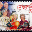 Postage stamp Australia 1987 Carolers, Christmas — Stock Photo