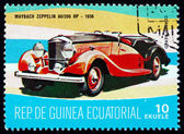 Postage stamp Equatorial Guinea 1972 Maybach Zeppelin, 1936 — Stock Photo
