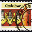 Postage stamp Zimbabwe 1985 Corn, Agriculture — Stock Photo #38925435
