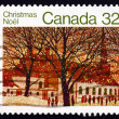 Stock Photo: Postage stamp Canad1983 UrbChurch, Christmas