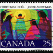 Postage stamp Canada 1977 Christ Child, Christmas — Stock Photo