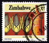 Postage stamp Zimbabwe 1985 Corn, Agriculture — Stock Photo