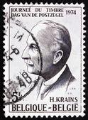 Postage stamp Belgium 1981 Fernand Severin, Writer — Stock Photo