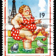 ������, ������: Postage stamp GB 1994 Bather at Blackpool
