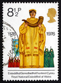 Postage stamp GB 1976 Archdruid, Eisteddfod — Stock Photo