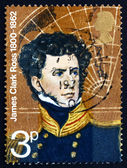Postage stamp GB 1972 James Clark Ross, Polar Explorer — Stock Photo