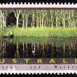 Postage stamp Australia 1992 Noosa River, Queensland — Stock Photo