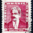 Stock Photo: Postage stamp Brazil 1954 Oswaldo Cruz, Physician