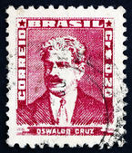 Postage stamp Brazil 1954 Oswaldo Cruz, Physician — Stock Photo