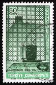 Postage stamp Turkey 1968 Ataturk's Tomb — Stock Photo