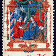 Postage stamp Australia 1989 Annunciation — Stock Photo