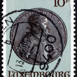 Postage stamp Luxembourg 1985 King Philip II of Spain — Stock Photo