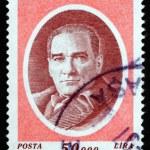 Postage stamp Turkey 1996 Mustafa Kemal Ataturk — Stock Photo