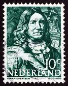 Postage stamp Netherlands 1943 Johan Evertsen, Dutch Admiral — Stock Photo