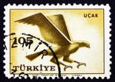 Postage stamp Turkey 1959 Hawk, Bird of prey — Stock Photo