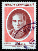 Postage stamp Turkey 1996 Mustafa Kemal Ataturk — Stock Photo
