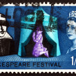 Postage stamp GREAT BRITAIN 1964 Shakespeare Festival — Stock Photo