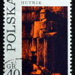 Postage stamp Poland 1971 Founder, by Xawery Dunikowski — Stock Photo #39544323