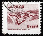 Postage stamp Brazil 1986 Principe da Beiro Fort — Stockfoto