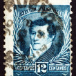Postage stamp Argentina 1893 Manuel Belgrano — Stock Photo