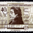 Stock Photo: Postage stamp Uruguay 1963 Damaso Antonio Larranaga, Teacher