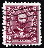 Postage stamp Uruguay 1945 Eduardo Acevedo, Politician — Stock Photo