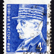 Stock Photo: Postage stamp France 1942 Marshal Petain