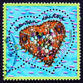 Postage stamp France 2001 Jewelry, Heart — Stock Photo