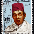 Stock Photo: Postage stamp Morocco 1968 HassII, King of Morocco