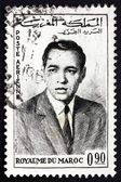 Postage stamp Morocco 1962 Hassan II, King of Morocco — Stock Photo