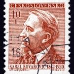 ������, ������: Postage stamp Czechoslovakia 1954 Karel Kovarovic