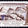 Postage stamp Czechoslovakia 1961 Tatra Mountains — Stock Photo