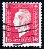 Postage stamp France 1944 Marianne, the Allegory — Stock Photo