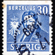 Stock Photo: Postage stamp Sweden 1939 Jons Jacob Berzelius, Chemist